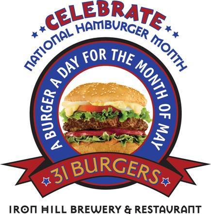 Celebrate National Burger Month at Iron Hill Brewery