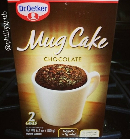 image: Dr. Oetker Chocolate mug cake
