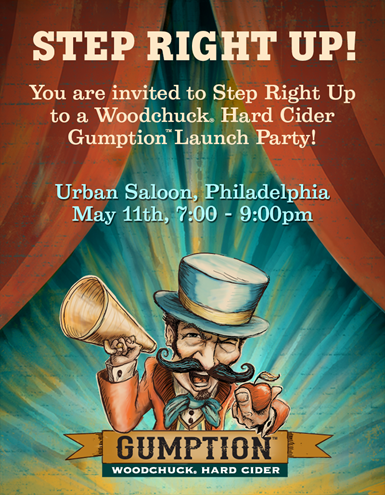 Philadelphia Gumption Hard Cider Launch Party