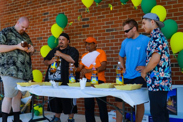 NetCost Market Grand Opening Ravioli Eating Contest