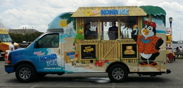 Kona Ice Shaved Ice and Ice Cream Truck