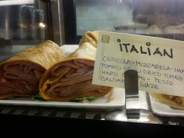 Ventuno Philly Italian Wrap
