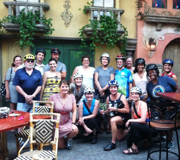 Indego Gearing Up Members at Cuba Libre Philadelphia