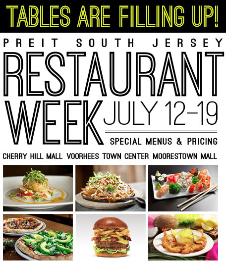 PREIT South Jersey Restaurant Week