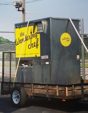 Get To Know: The Wandering Chef Catering Cart