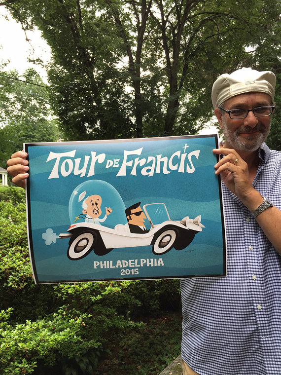 Tour de Francis print by The Grand Review