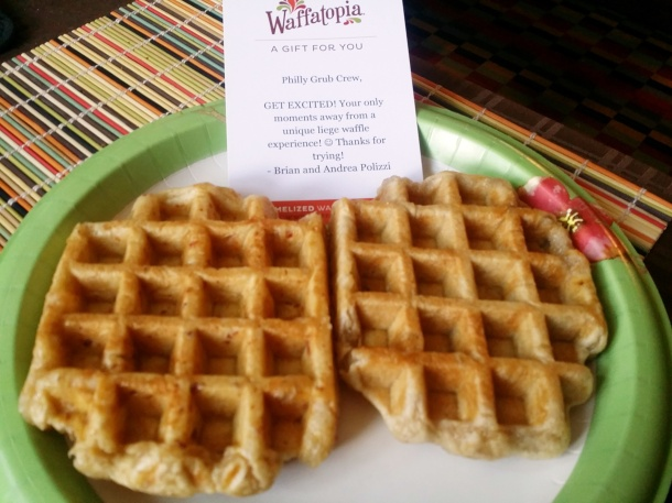 Waffatopia Cinnamon Vanilla and Maple Bacon Belgian Waffles Enhanced