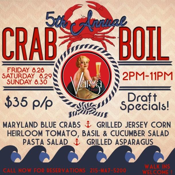 Varga Bar Crab Boil