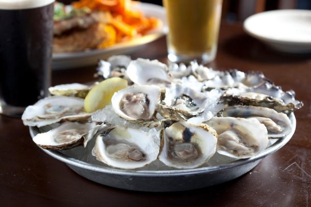 Oysters at The Pour House