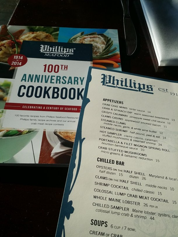 Review phillips seafood in atlantic city philly grub for Atlantic fish menu