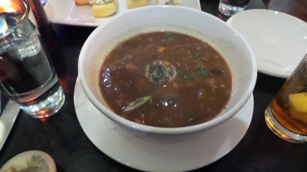 Duck and Andouille Sausage Gumbo at SOUTH Kitchen & Jazz Parlor