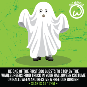 FREE Wahlburgers Today at The Piazza 12-4PM