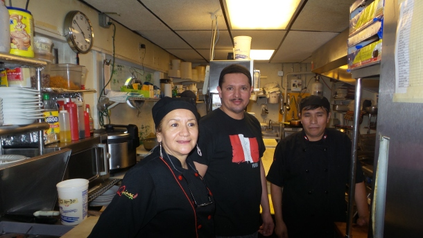 Chef Carmen and El Tule Kitchen Team
