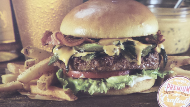 Hard Rock Cafe Modelo Especial Bacon Cheeseburger