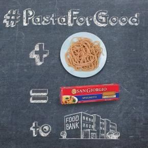 San Giorgio #PastaForGood Campaign To BenefitPhilabundance