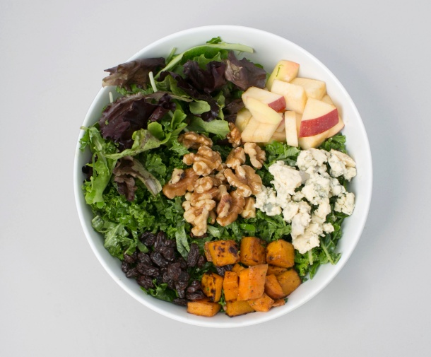 Butternut + Apples Salad at sweetgreen