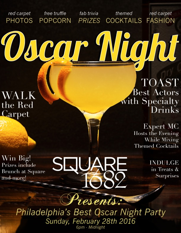 Square 1682 Oscar Night Party