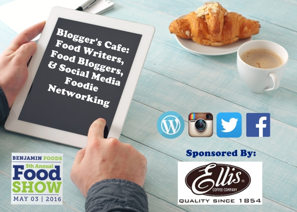 Blogger's Cafe at Benjamin Foods Food Show