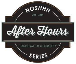 Noshhh: After Hours Series with ChocAmo Cookie Cup Creations at The Living Room Cafe