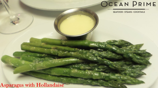 Ocean Prime - Asparagus with Hollandaise