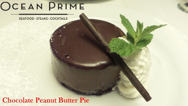 Ocean Prime - Chocolate Peanut Butter Pie