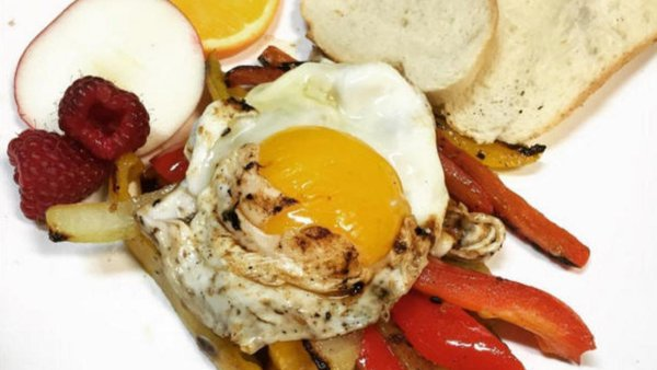 Poached Eggs at Don Quixote Tapas & Things