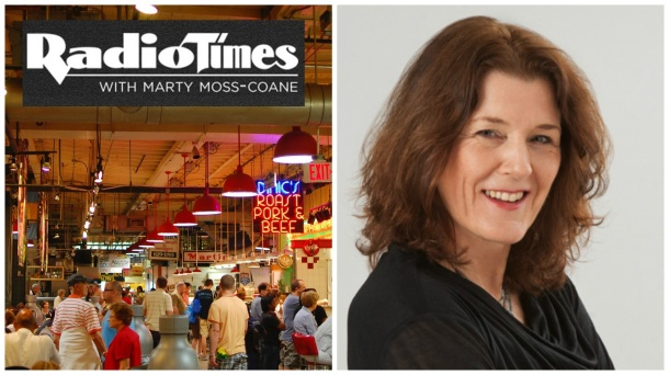 Radio Times with Marty Moss-Coane at Reading Terminal Market