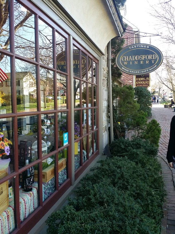 Chaddsford Winery Wine Shop Peddler's Village