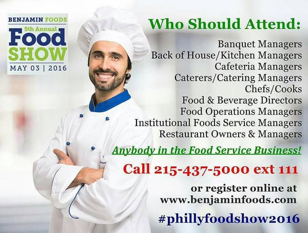 5th Annual Food Show by Benjamin Foods