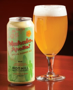 Mahalo, Apollo! Summer Wheat Beer is Back at Iron HillBrewery