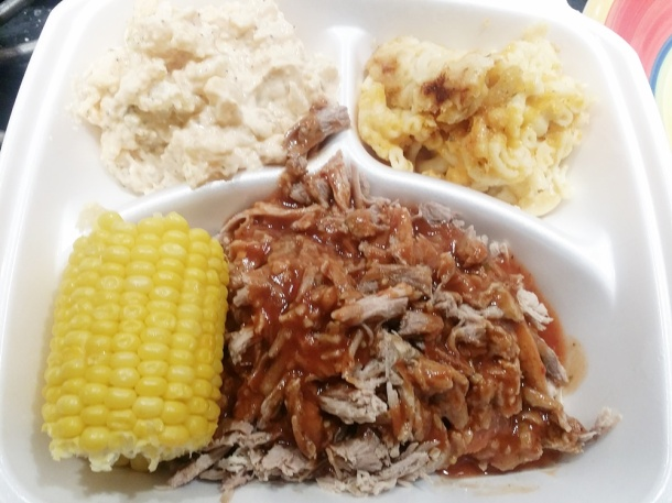 MEN in the Kitchen BBQ Pennsauken Pulled Pork Platter