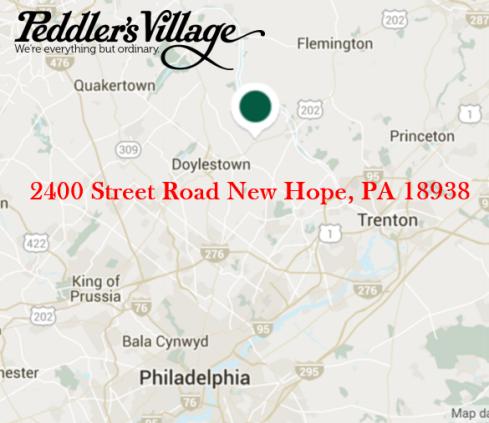 Peddler's Village Google Map