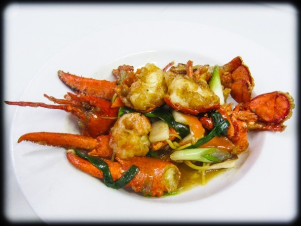 Yangming Lobster and Shrimp Dinner