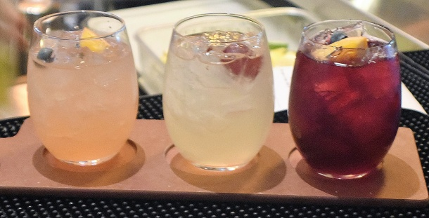 California Pizza Kitchen Sangria Flight