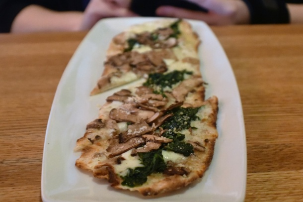 CPK Cherry Hill Shaved Mushroom Flatbread