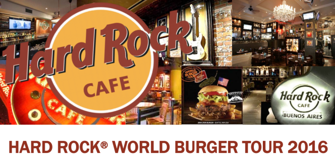 World Burger Tour Hard Rock Cafe