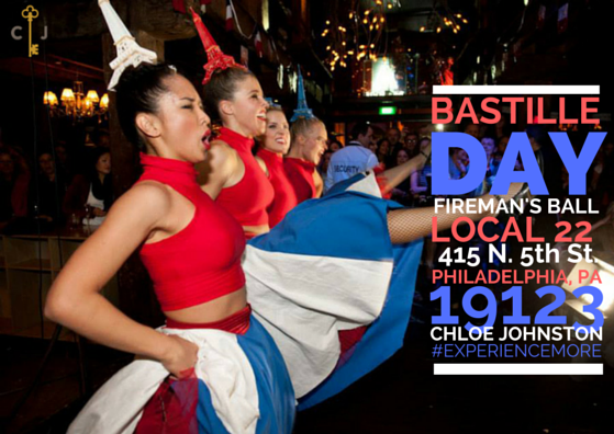 Chloe Johnston Bastille Day Event