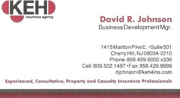 David R. Johnson KEH Insurance