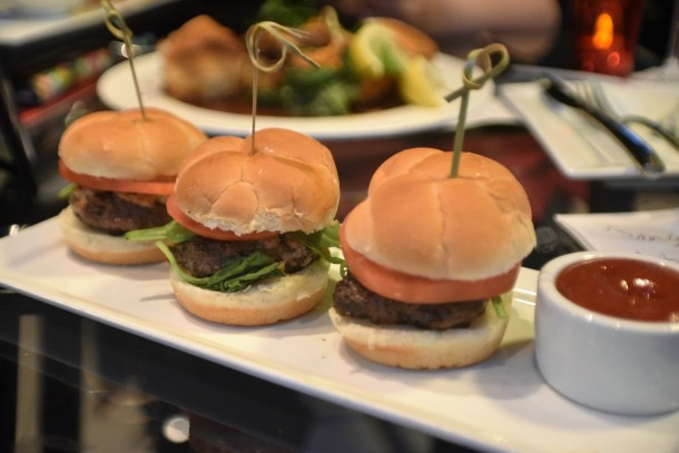 Lancaster County Beef Sliders at Art Bar Sonesta Philadelphia