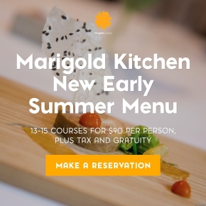 Four Courses from Marigold Kitchen's New Early Summer Menu