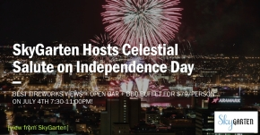 "SkyGarten at 3 Logan Square Hosts ""Celestial Salute"" on Independence Day"