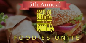 CANCELLED: Taste of 3 Cities Food Truck Festival & Competition at The Philadelphia Navy Yard