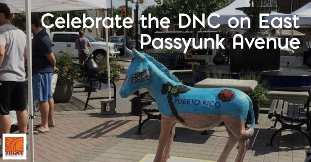 Democratic National Convention East Passyunk Avenue