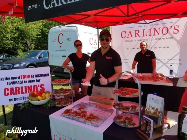 Carlino's Market at Tomato Fest
