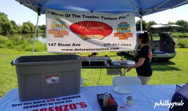 DeLorenzo's Trenton Tomato Pie at Tomato Fest