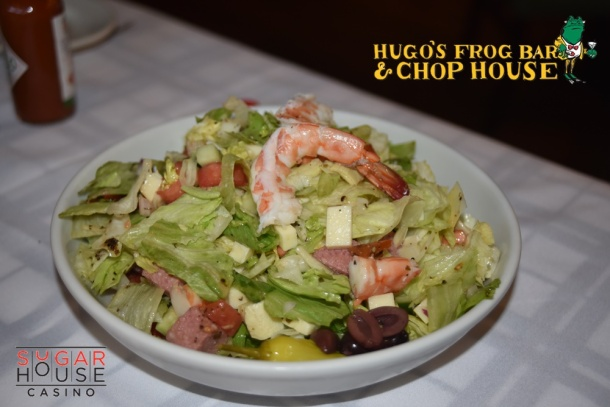 Hugo's Frog Bar & Chop House Chopped Garbage Salad