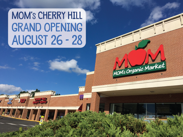 MOM's Cherry Hill Grand Opening Dates