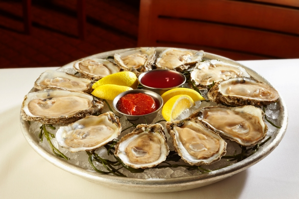 Ocean Prime Oysters on the Half Shell