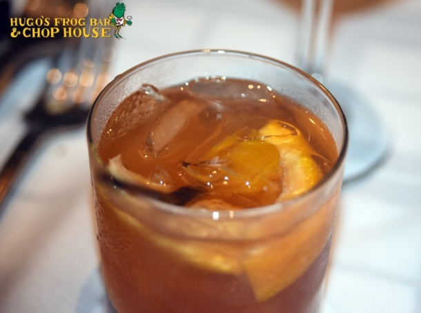 Old-Fashioned at Hugo's Frog Bar & Chop House at SugarHouse Casino