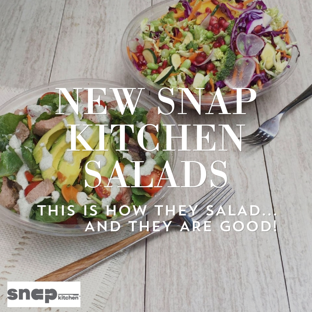 Snap Kitchen Philly Menu
